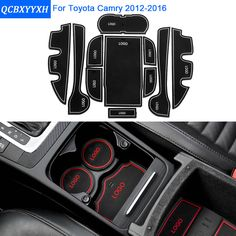 2015 2017 camry sexse gloss black out kit camry se toyota camry 11pcsset for toyota camry 2012 2016 car styling slot pad interior door groove fandeluxe Images