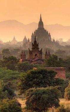 Bagan, Myanmar #travel #myanmar