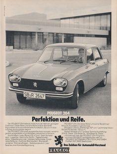 Peugeot 204 - historische Werbeanzeige Original-Werbung 1976   eBay