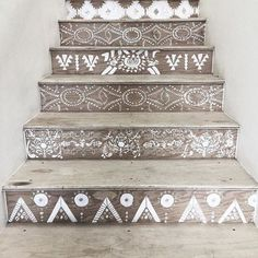 Painted Stairs #obsession