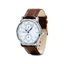 Multifunkčné náramkové hodinky Watches, Leather, Accessories, Fashion, Moda, Wristwatches, Fashion Styles, Clocks, Fashion Illustrations