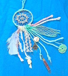 Dreamcatcher for your car with mirror charms by TheLittleBigShop, $19.99
