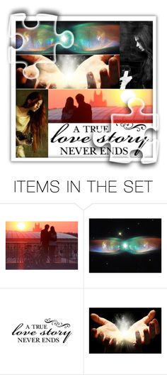 """""""A True Love Story Never Ends."""" by giovanina-001 ❤ liked on Polyvore featuring art"""