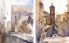 Beautiful Watercolors by Grzegorz Wróbel - Socialphy