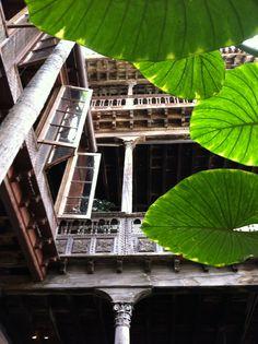 Balconies in La Orotava