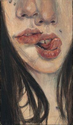 Christine Wu - Spice, 2013 Paintings: Oil on Wood Panel