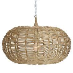 Calabash Hanging Pendant-Natural