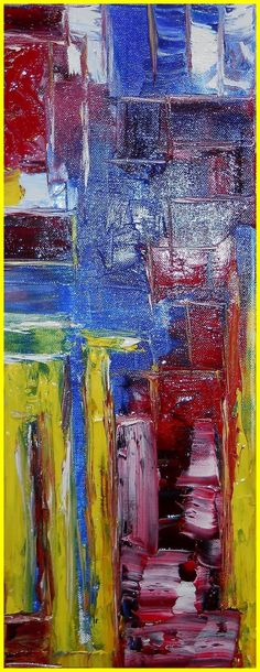 Limone - Lago di Garda Atlstadt ÖL Leinwand #Garda #Limone #Malerei #Expressionisten http://actionmaler.de