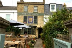 Tucked away from the noise and traffic of the city centre, this is a small yet perfectly formed pub with lovely rooms and a sunny beer garden...  (Bath, England)