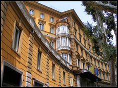 Building of Hotel Majestic on Via Veneto, Rome, via Flickr.