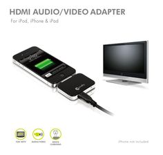 HDMI Audio/Video Adapter for iPod, iPhone & iPad