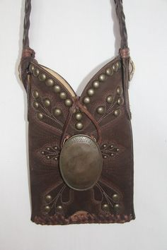 Soft Finish Brown Western Boot Purse by GriffinsCloset on Etsy, $165.00
