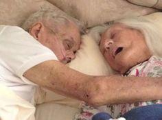 Na alegria e na tristeza, na saúde e na doença, NEM que a morte os separe:   Após 75 anos juntos, marido e mulher morrem abraçados em hospital
