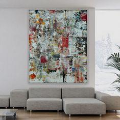 Huge abstract modern original painting