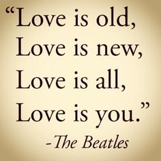 I love this quote, the Beatles are the best