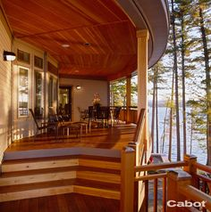 Cabot Stain Australian Timber Oil on a Honey Teak Deck showcases the warm beauty of the wood. Cabot Australian Timber Oil, Australian Homes, Pole Barn House Plans, Pole Barn Homes, Outdoor Kitchen Patio, Outdoor Spaces, Outdoor Life, Backyard Patio, Outdoor Ideas