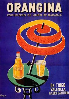 Art print POSTER spanish-orangina vintage   Art, Art from Dealers & Resellers, Posters   eBay!
