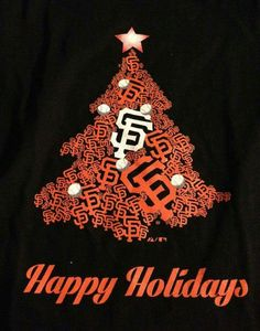 SF Giants My Giants, Giants Baseball, New York Giants, Merry Christmas Pictures, Christmas Love, Sf Niners, Dodgers Fan, Better Baseball, Buster Posey