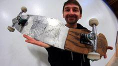 THE KNIFE SKATEBOARD | YOU MAKE IT WE SKATE IT EP 93 – Braille Skateboarding: Source: Braille Skateboarding