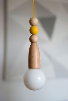 Tilka fa minimál lámpa sárga textilkábellel Tervezd meg a saját lámpád: http://www.tilka.hu/lampatervezo
