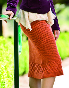 Ravelry: Althea Skirt pattern by Snowden Becker