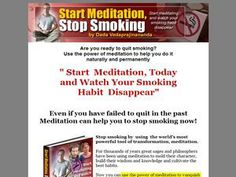 Start Meditation, Stop Smoking