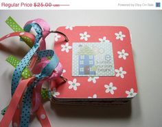CIJ Family Mini Scrapbook Album Family Mini Album by HampshireRose, $20.00