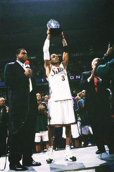 Allen Iverson, my favorite player.