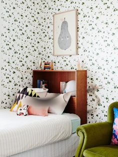 Martine and Jason Cook — The Design Files Creative Kids Rooms, Toddler Rooms, The Design Files, Little Girl Rooms, Room Themes, Kids Decor, Boy Room, Child's Room, Girls Bedroom