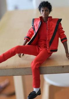 Michael Jackson Thriller, Michael Jackson Bad, Michael Love, Michael Jackson Merchandise, Monster High Boys, African American Dolls, The Jacksons, I Love Him, Fashion Dolls