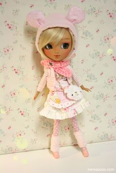 Custom PULLIP doll VENICE COOKIE by Nerea Pozo  by Keera, via Flickr