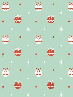 Vintage Holiday Pattern