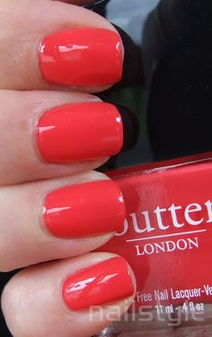 Butter London MacBeth. I dont care if it is still snowing and not officially Spring, this is going on.