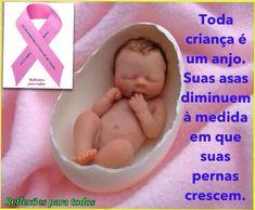 """Acesse: """"Toda criança é um anjo"""" (outra imagem).    #OutubroRosa, participe da campanha, compartilhando, curtindo..."""