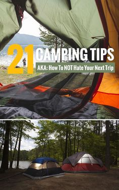 Camping isn't really a vacation, but it makes for good memories. Being unprepared can make camping challenging. Ensure your next trip is awesome. This list of family camping tips is a must-read for parents planning an outdoor vacation. *So simple and brilliant. Saving this for our summer trip. via @zina