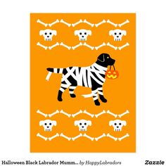 Shop Halloween Yellow Labrador Mummy Postcard created by HappyLabradors. Personalize it with photos & text or purchase as is! Labrador Retriever, Phone Background Wallpaper, Halloween Chocolate, Halloween Cartoons, Happy Halloween, Funny Halloween, Personalized Note Cards, Creepy Cute, Black Labrador