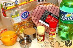Ham recipe for Thanksgiving! :)
