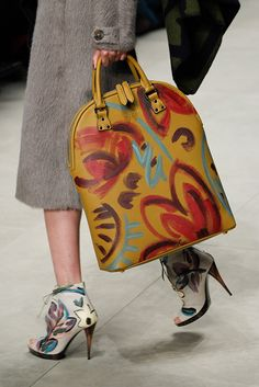 Burberry Prorsum | Fall 2014 Ready-to-Wear | paint