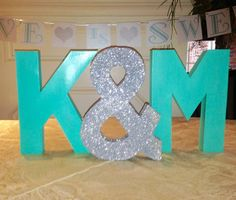 12 inch paper mache letters paper mache initials by giftedforyou