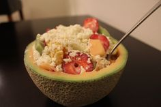 Fruit Salad with Cheese - Pinning for future use