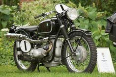 1952 BMW R Series Vintage BMW Motorcycle R68 Isdt Gelandesport Racer | eBay