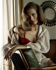 Malgosia Bela by Javier Vallhonrat - #Fashion #Photography