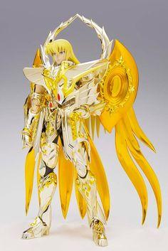 Saint Seiya Action Figure PVC/Metal Soul of Gold Virgo God Cloth 18 cm ( Bandai )