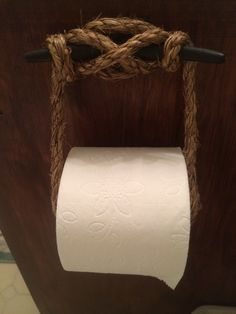 Cleat toilet paper holder Nautical bathroom Perfect for the