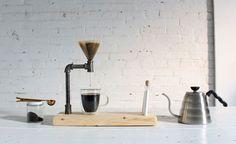配管パーツでおしゃれコーヒーメーカーをDIY!