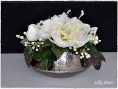 zijden bloemstuk