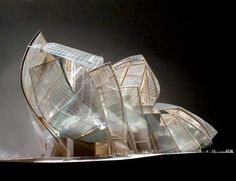 gehry - often an exciting expression of the project... let's put it this way... if no one cares about the model, no one will pay for the project ;) - JB