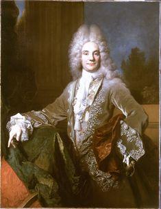 Portrait of Pierre-Joseph Titon de Cogny by NICOLAS DE LARGILLIERE (Paris 1656 – 1746), 1715.