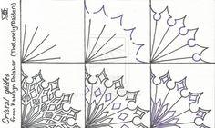 Cristal Gelees ~ Tangle Pattern by TheLonelyMaiden.deviantart.com on @deviantART