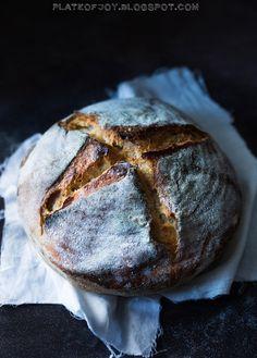 Plate of Joy: Tartine Bread - Pszenny chleb na zakwasie